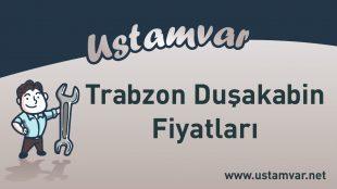 Trabzon Duşakabin Fiyatları
